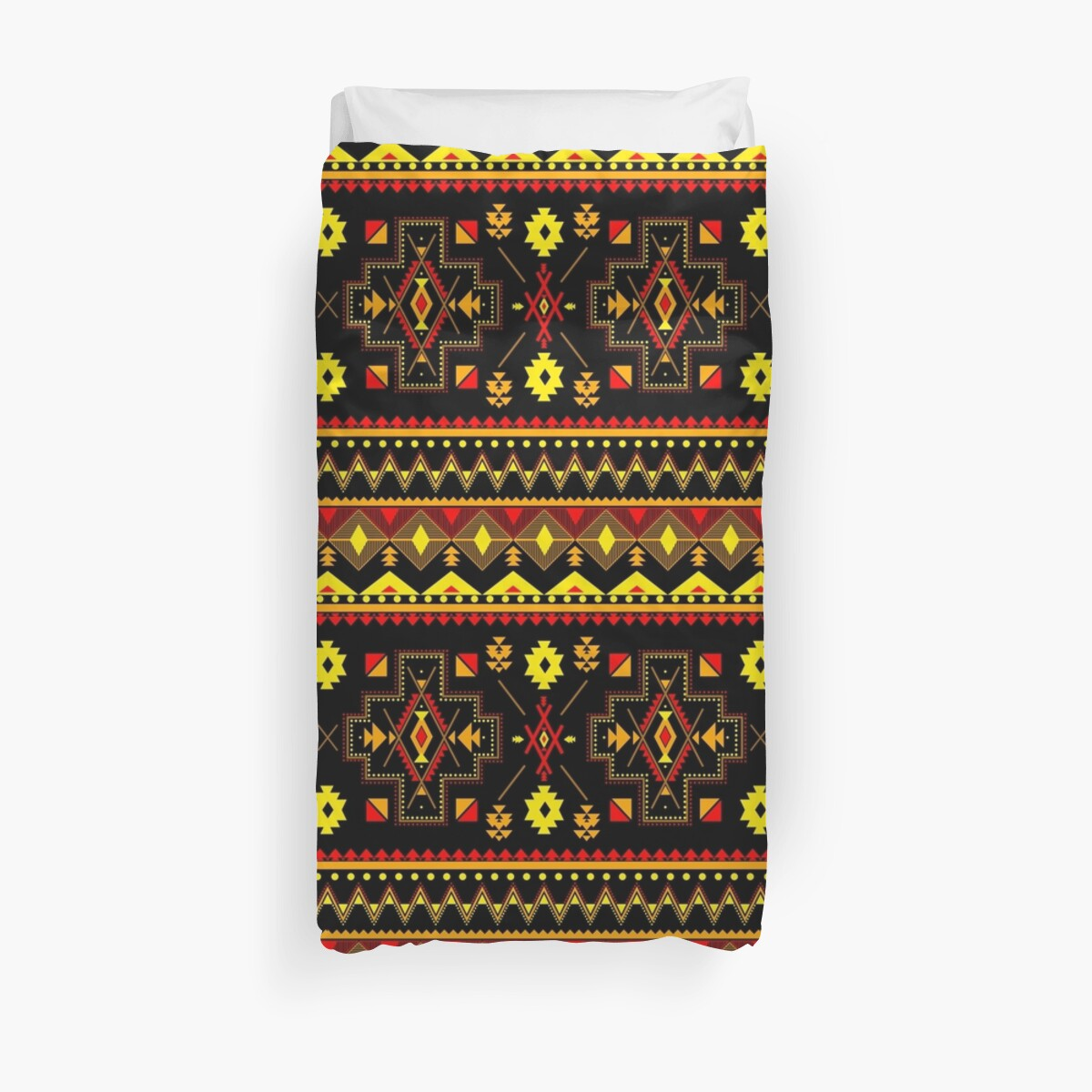Ethnic Native American tribe - Hopi-Navajo Tribal Pattern by JCDesigner-USA