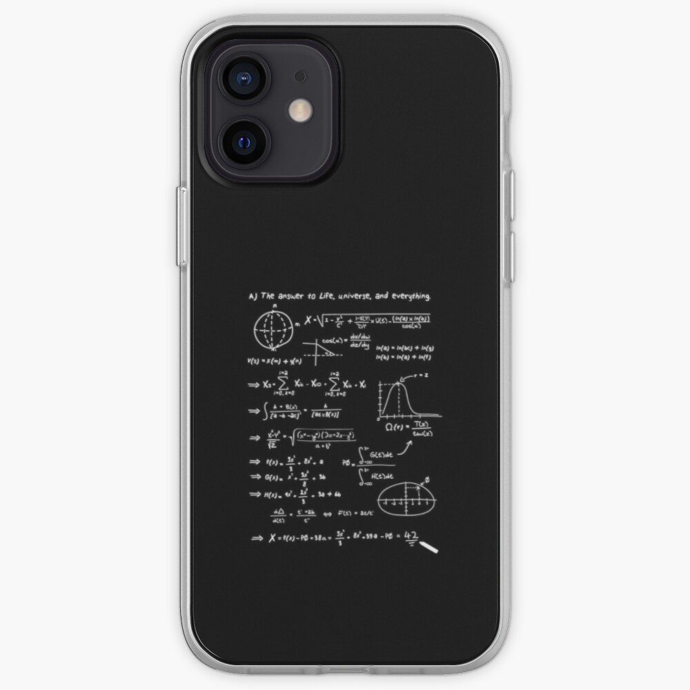 The answer to life, univers, and everything. iPhone Case & Cover