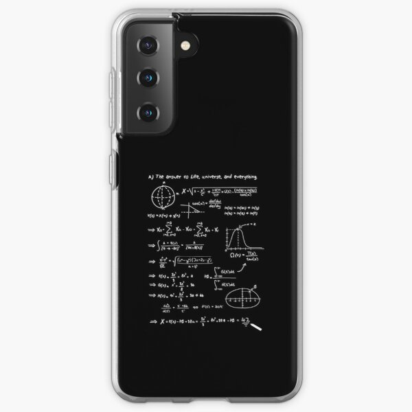 The answer to life, univers, and everything. Samsung Galaxy Soft Case
