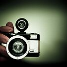 My hand and my Lomo camera. by Jean Beaudoin