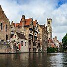 Rozenhoedkaai Bruges by Ann Garrett
