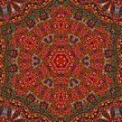 Irish carpet by Margaret Hockney