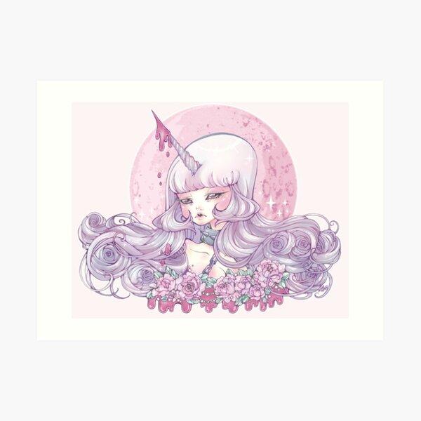 The Unicorn is Triumphant Art Print
