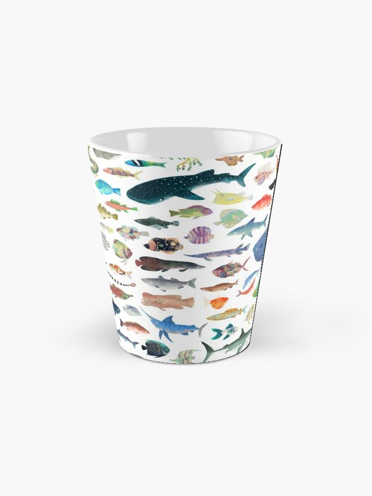 Alternate view of One Hundred Fish Mug