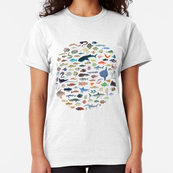 One Hundred Fish Classic T-Shirt