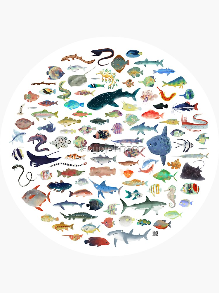 One Hundred Fish by tarynjohnson