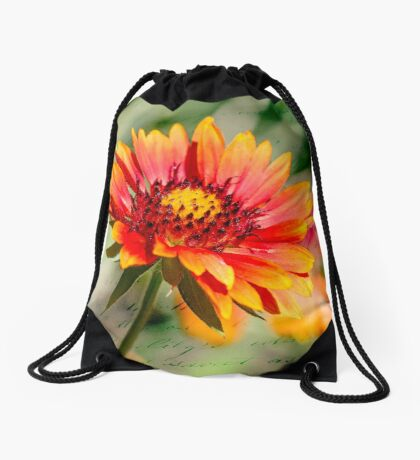 A picture of cheer Drawstring Bag