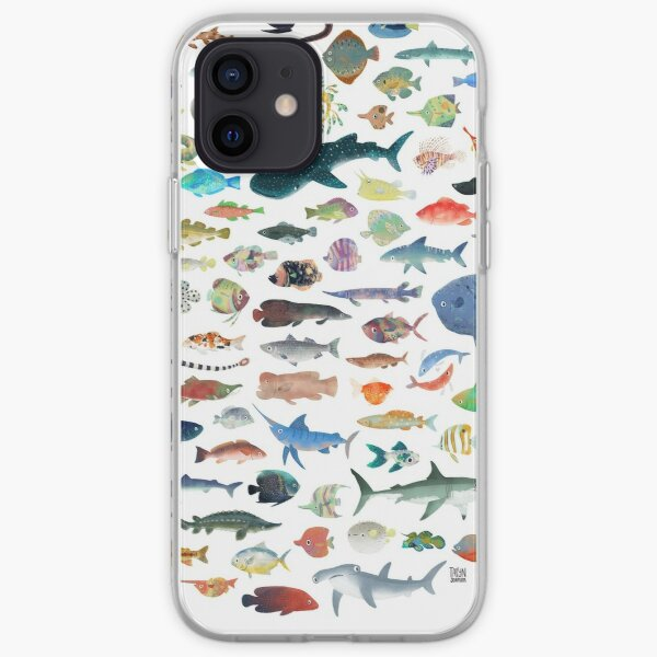 One Hundred Fish iPhone Soft Case