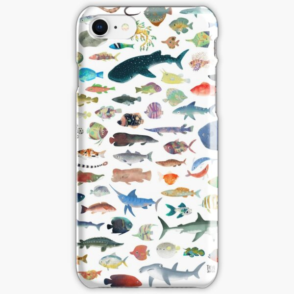 One Hundred Fish iPhone Snap Case