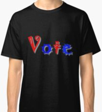Men and Women Civic Duty - Vote Classic T-Shirt