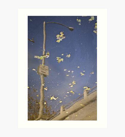 """Venice Canals Walkway"" Art Print"