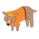 pumpkin chihuahua  by RainbowSketches