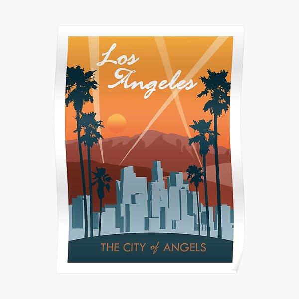 Affiche de voyage de Los Angeles Poster