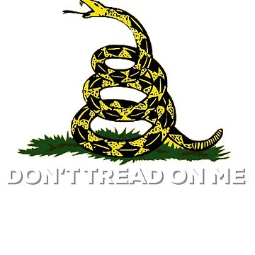 Don't tread on me American patriot tee by TimShane