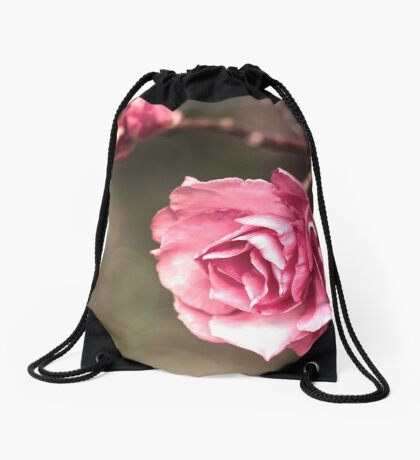 Beauty is a Light in the Heart Drawstring Bag