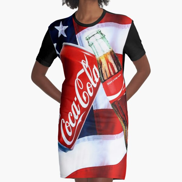Cold Ones Graphic T-Shirt Dress