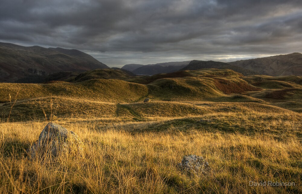 Sunset on High Rigg by David Robinson