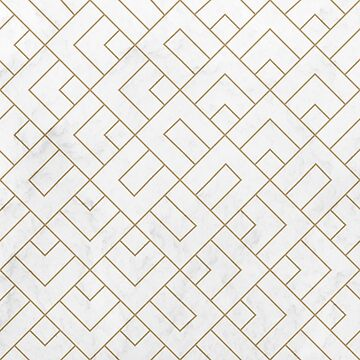 Golden Marble Square Floor Pattern by tobiasfonseca