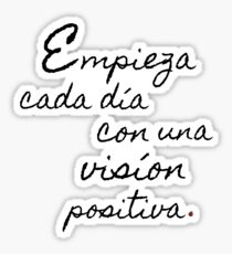Spanish Inspirational Quotes Stickers | Redbubble
