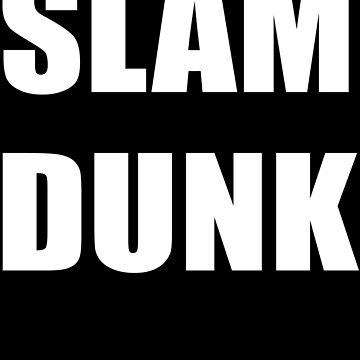 SLAM DUNK - Basketball Sticker by stickersandtees