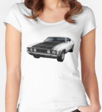 Ford Falcon XA GT Coupe Women's Fitted Scoop T-Shirt