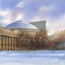 Novosibirsk. Opera-house by Sergei Kurbatov