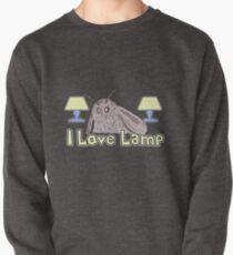 Moth Loves Lamp Meme Pullover