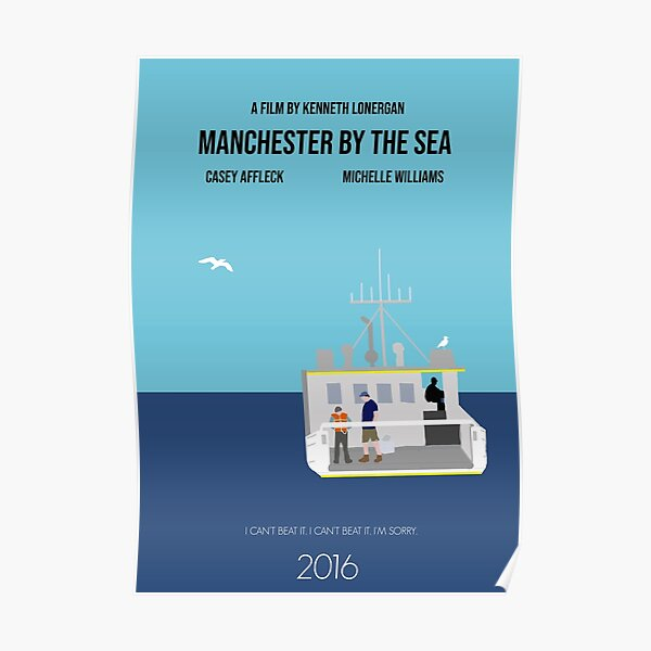 Manchester By The Sea Minimalist Movie Poster Poster