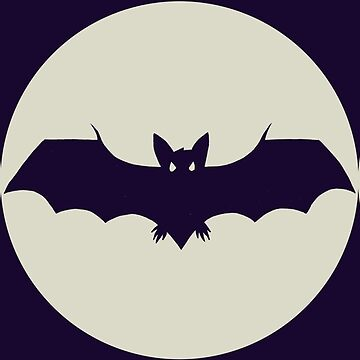Pagan Triple Moon Bat by Hackers