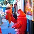 Lobster icecream shop, Bar Harbor by snittel