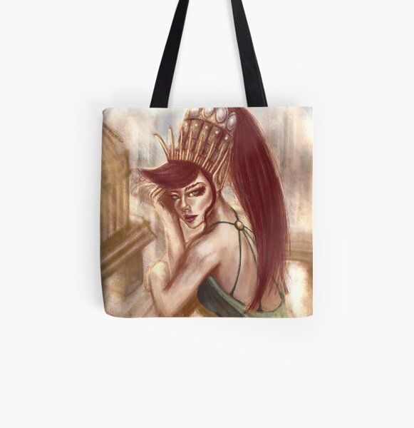 The Balcony All Over Print Tote Bag