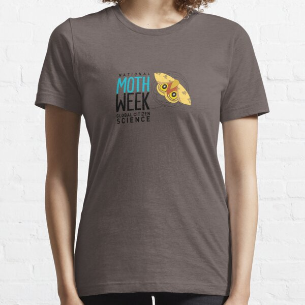 National Moth Week - logo horizontal Essential T-Shirt