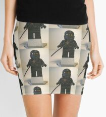 Black Ninja Custom Minifigure Mini Skirt