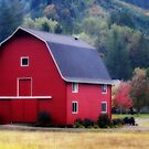 Red Barn  #2 by aussiedi