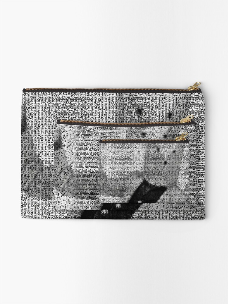 Alternate view of iD Pixelated ③ Zipper Pouch