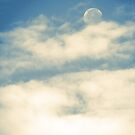 The Moon in Daylight (2) by leebradford