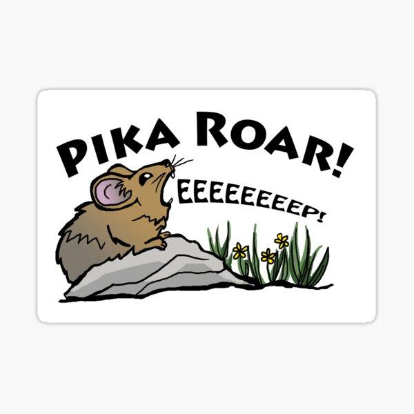 Pika Roar Sticker