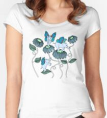 Look Out For Elephlies Women's Fitted Scoop T-Shirt