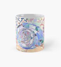 Coral and Seashell Mosaic Mug