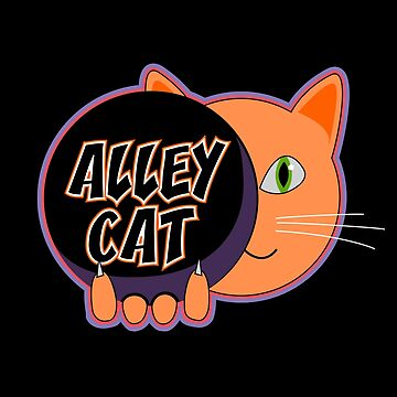 Alley Cat Bowling Kitty by LADGraphics