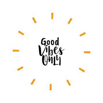 Good Vibes Only Star by evlar
