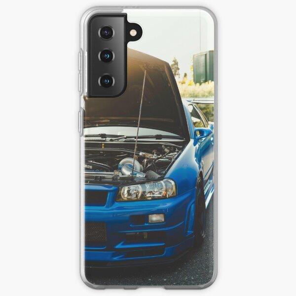 850BHP Nissan Skyline GT-R R34 VSpecIINur Samsung Galaxy Soft Case