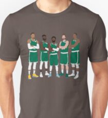 The Celtics' Big 5 Unisex T-Shirt