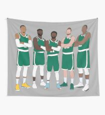 The Celtics' Big 5 Wall Tapestry