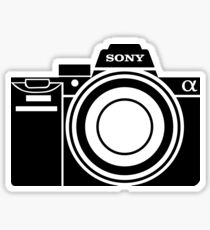 Sony Alpha Camera Sticker