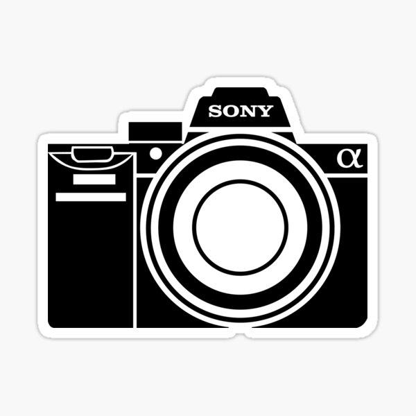 Sony Alpha Camera Pegatina