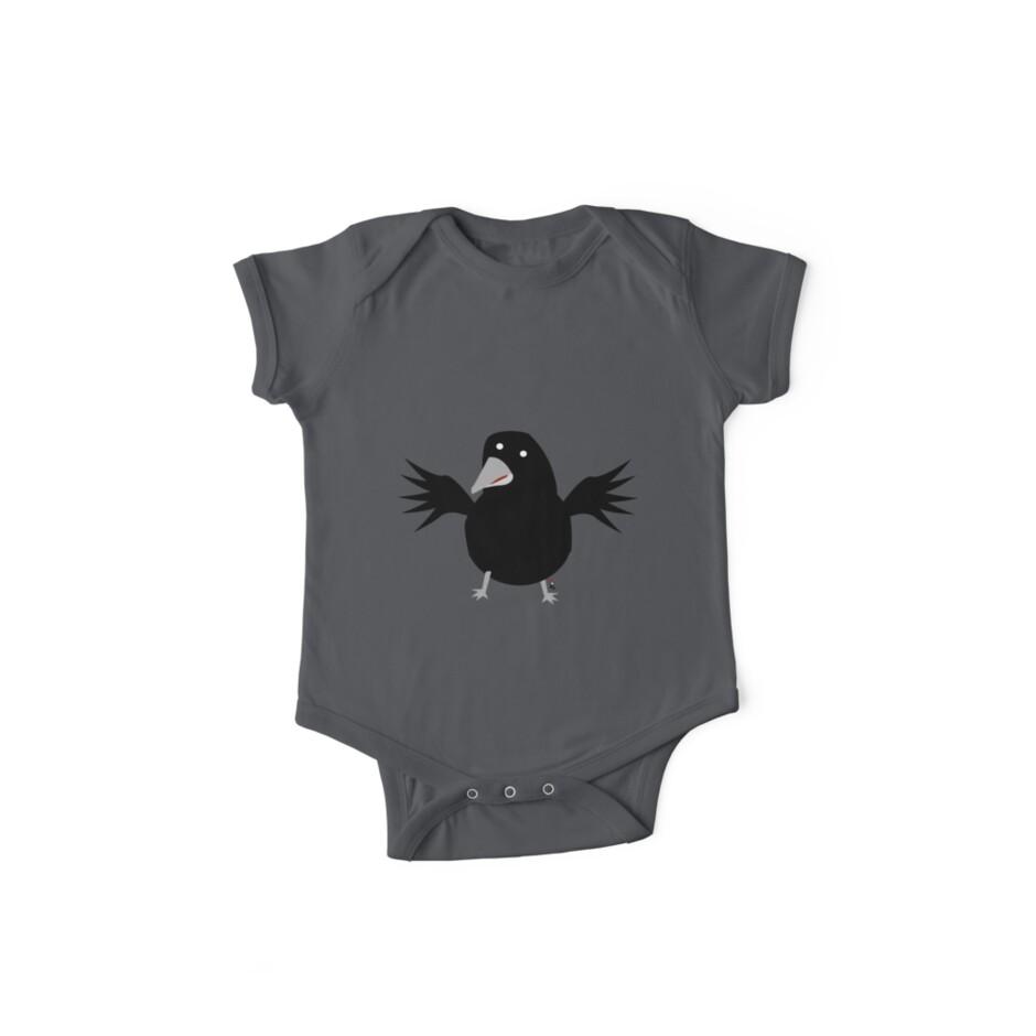 Black crow by InkRain