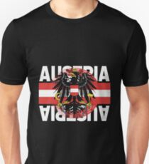 Austria nationality Unisex T-Shirt