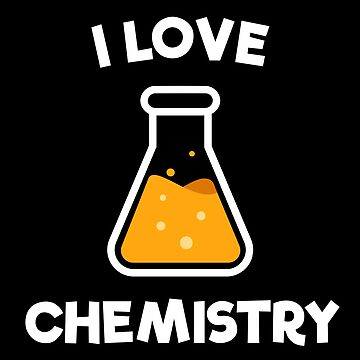 Cool I Love Chemistry Vintage Retro Style by happinessinatee