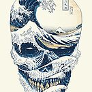 The Great Wave off Skull by Afif Quilimo